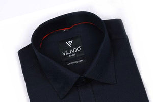 Vilado Paris Men's Shirt Premium Cotton Formal Regular Fit