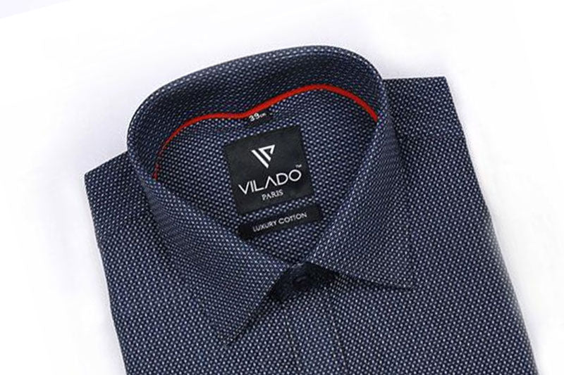 Men's Formal Shirt Premium Cotton Versatile Pattern By Vilado Paris