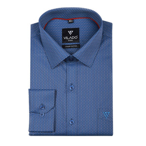 Men's Shirt Regular Fit Premium Cotton Professionally Design By Vilado Paris