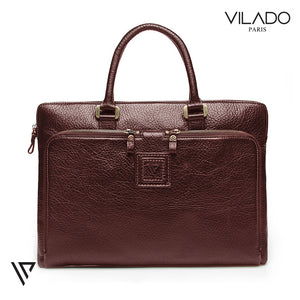Premium Top Grain Leather Messenger Bag