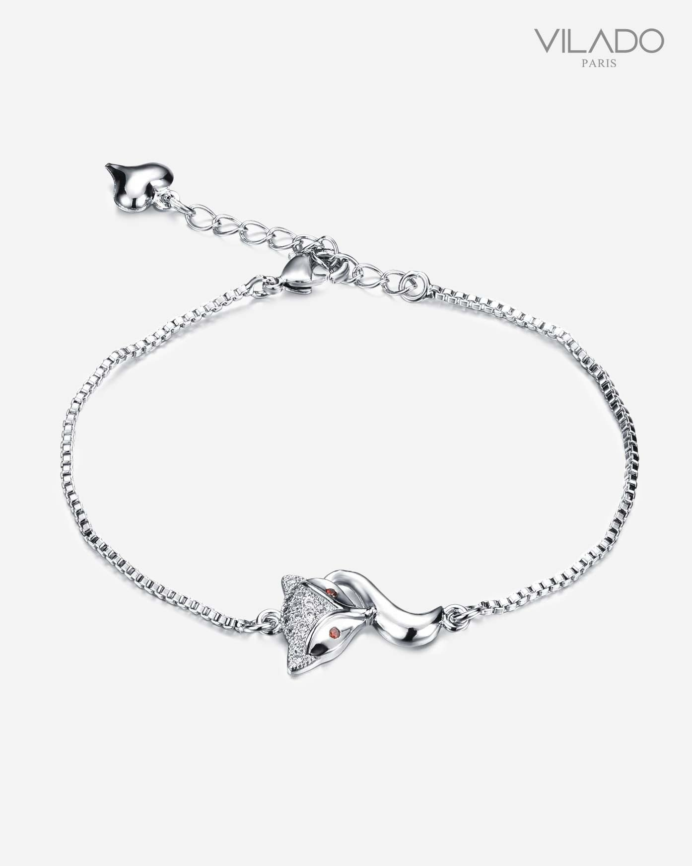 Silver Fox Diamond Bracelet