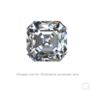 ASSCHER DIAMOND - 1.50 CARAT G COLOR VS2 CLARITY GIA