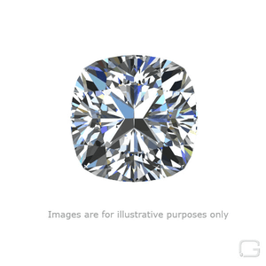 CUSHION MODIFIED DIAMOND - 1.01 CARAT D COLOR VS1 CLARITY GIA