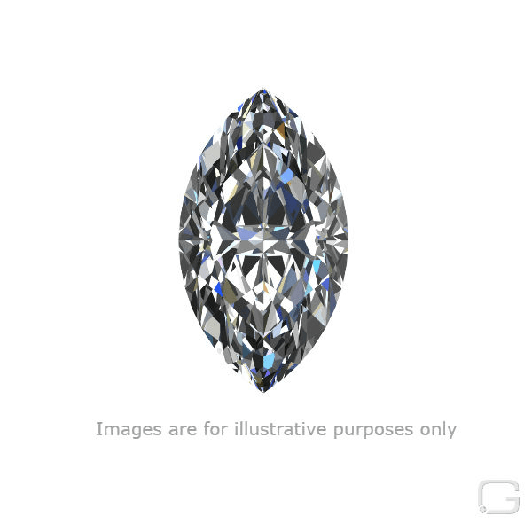 MARQUISE DIAMOND - 1.63 CARAT I COLOR VVS2 CLARITY GIA