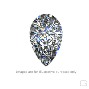 PEAR DIAMOND - 0.70 CARAT D COLOR VS2 CLARITY GIA