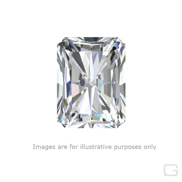 RADIANT DIAMOND - 1.01 CARAT E COLOR VVS1 CLARITY GIA