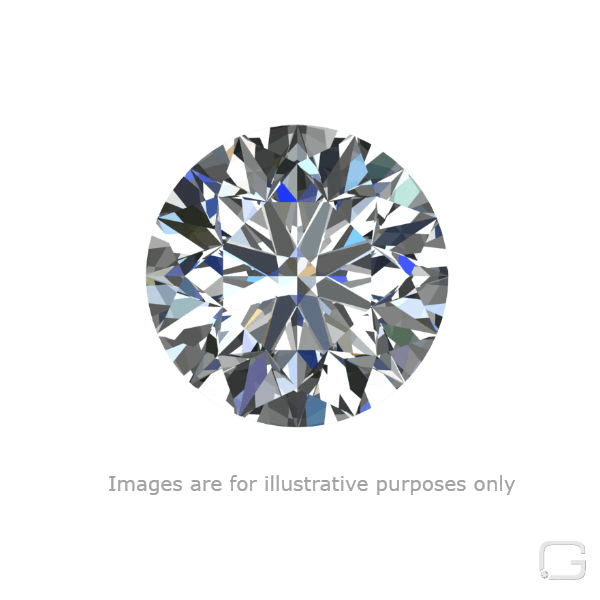 ROUND DIAMOND - 0.50 CARAT I COLOR VS2 CLARITY GIA