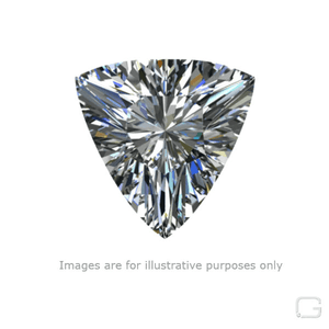 TRIANGULAR DIAMOND - 0.53 CARAT L COLOR SI1 CLARITY GIA