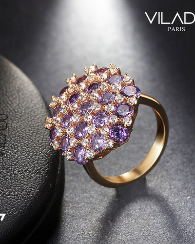Beautiful Purple Wedding Ring