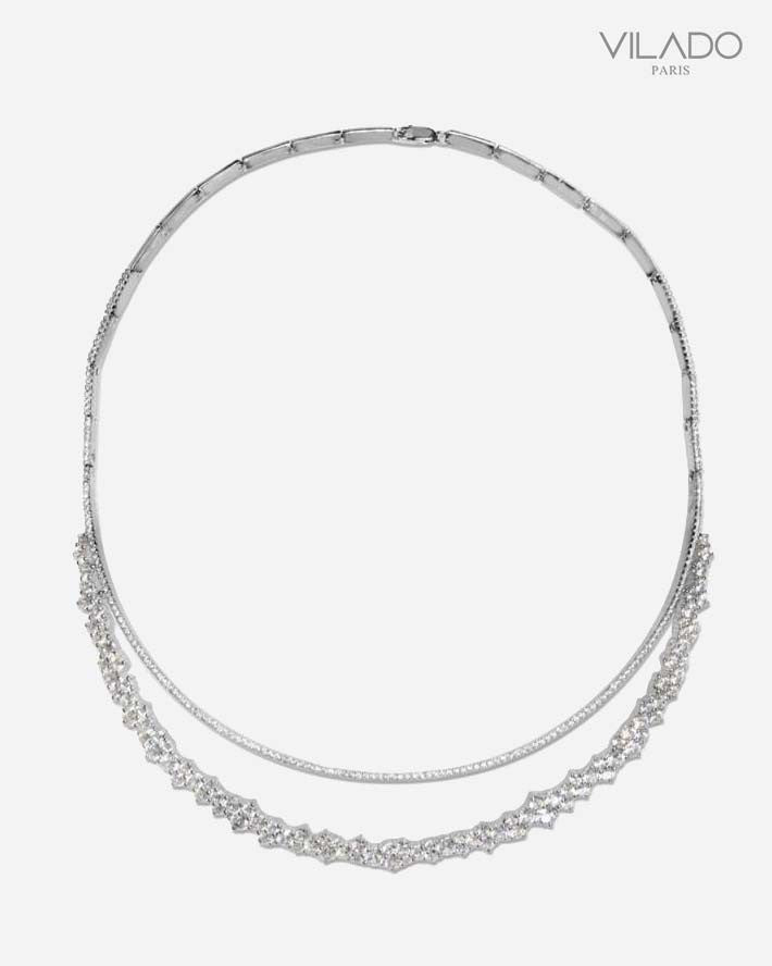 Fashion Choker Diamond Necklace