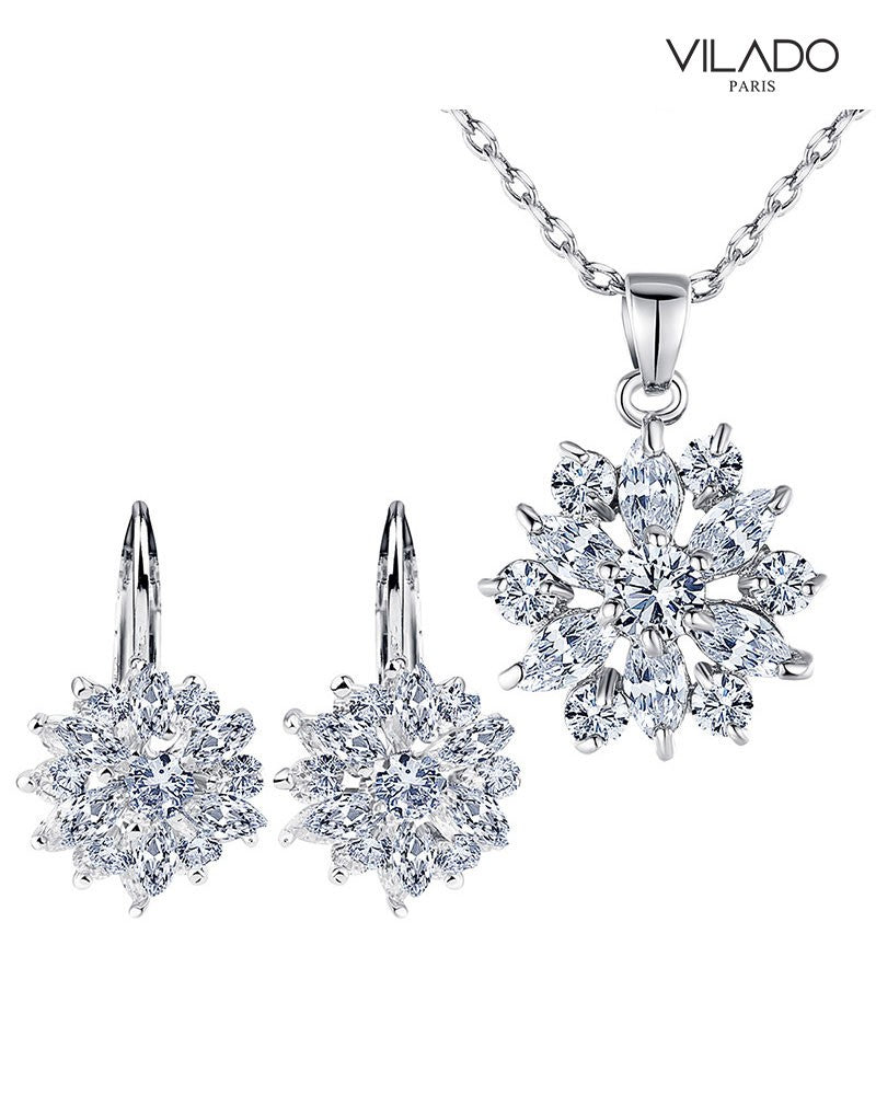 Elegant Bridal Diamond Jewellery Set