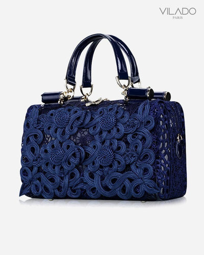 Women's Fashion Soft Lace Leather Shoulder Handbag
