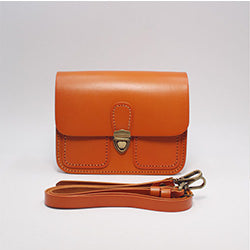 GENUINE LEATHER CUBE BOX HANDBAG SATCHEL BAG CLUTCH SHOULDER BAG CROSSBODY BAG PURSE FOR WOMEN