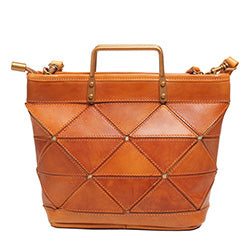 Handmade Brown Leather Handbags Purses