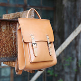 Best Womens Leather Small Backpack Bags - Annie Jewel