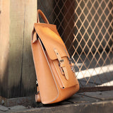 "12"" Best Womens Backpack Leather Satchel Backpack Women's Bag Purse - Annie Jewel"