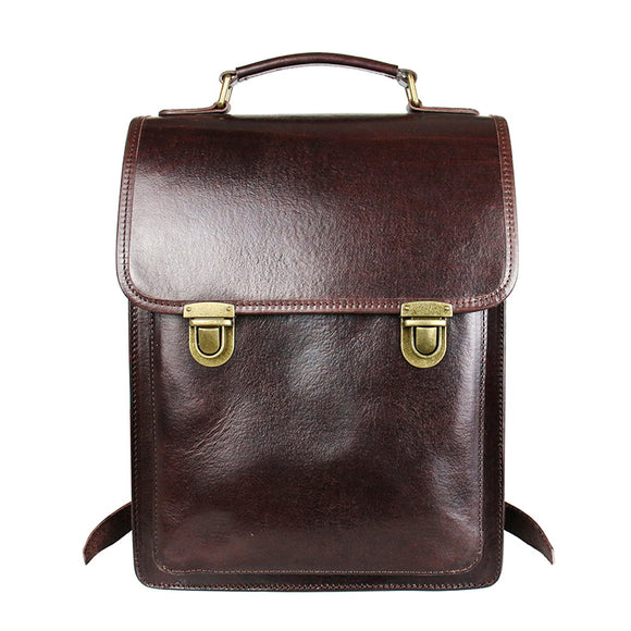 Distressed Leather Backpack Bag - Annie Jewel