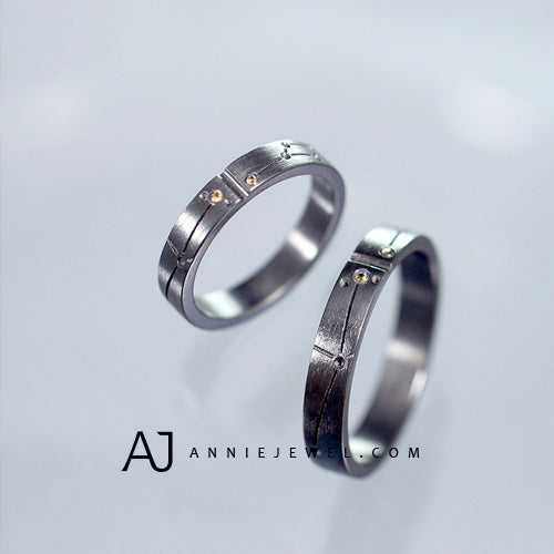 Silver Ring Bands Rings Star Ring Astrology Zodiac Altair Vega Valentine Gift Jewelry Accessories Girls Women Men