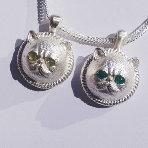 Handmade Silver Necklace Garfield Cat Kitty Pet Unique Cute Bracelet Necklace Pendant Christmas Gift Jewelry Accessories Women