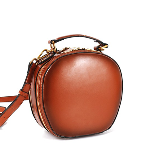 Small Round Shoulder Circle Bag On Sale - Annie Jewel