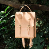 Genuine Leather vintage handmade shoulder bag cross body bag handbag backpack - Annie Jewel