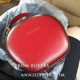 Red Circle Bag Circle Cross Body Bag Small Round Bag On Sale - Annie Jewel