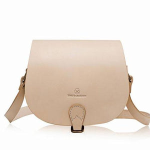 Personalized Begei Best Leather Saddle Bag Purse - Annie Jewel