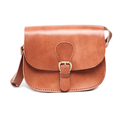 Handmade Genuine Leather Satchel Bag Handbag Shoulder Crossbody Bag Purse Clutch For Women