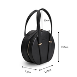 Small Round Circle Shoulder Bag - Annie Jewel