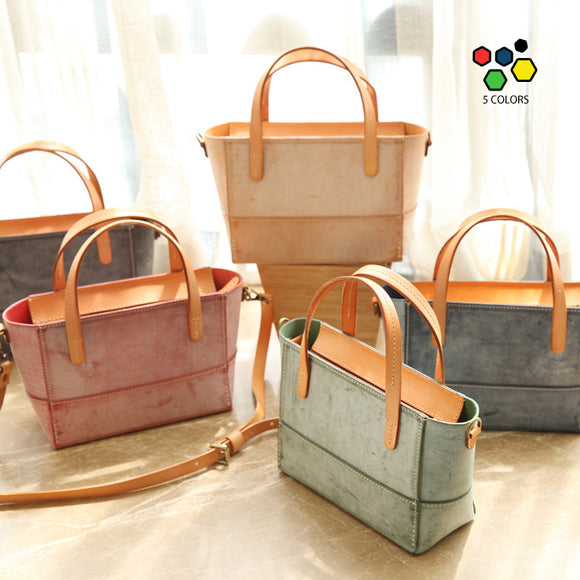 Best Foggy Wax Leather Zip Women's Satchel Handbags Purse