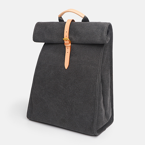 Womens Canvas Folded Backpack Laptop Bags - Annie Jewel