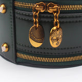 Round Leather Shoulder Circle Cross Body Bag - Annie Jewel