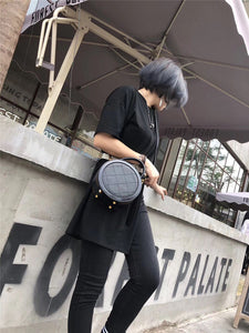 Black Circle Bag - Annie Jewel