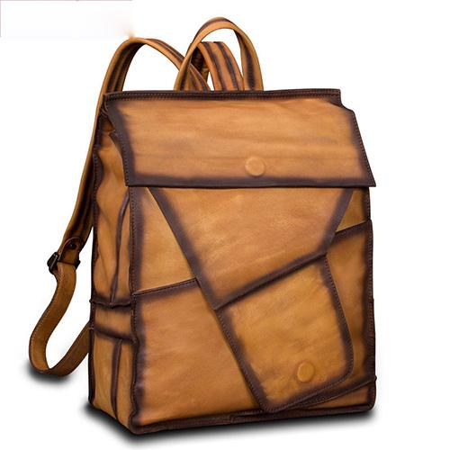 Geometric Genuine Leather 14