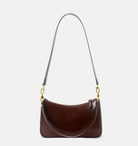 Leather Underarm Two Shouler Staps Bags - Annie Jewel