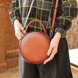 Round Shoulder Circle Cross Body Bags Purses - Annie Jewel