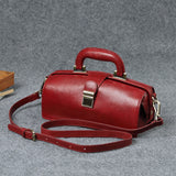 Female Leather Doctor Bag Purse Style Bag Medical Bags Cute - Annie Jewel