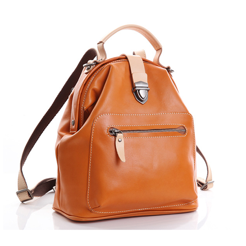 Cute Leather Backpacks Pocketbook Zip Women's Small Backpack Purse