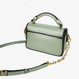 Small Leather Satchel Crossbody Bags - Annie Jewel