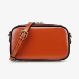 Small Leather Square Crossbody Bags - Annie Jewel