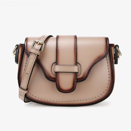 Womens Leather Mini Saddle Bags - Annie Jewel
