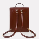 Womens Leather Satchel Backpack Bags - Annie Jewel