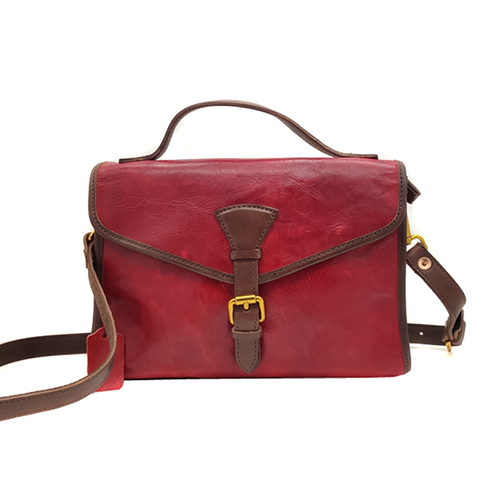Womens Leather Satchel Bag Purse - Annie Jewel