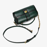 Womens Leather Small Satchel Bags - Annie Jewel