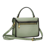 Womens Small Leather Satchel Bag - Annie Jewel