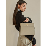 Womens Structured Satchel Handle Bags