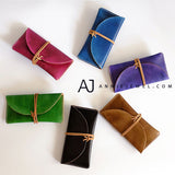 Leather Folded Long Wallet Clutch Phone Purse Wallet - Annie Jewel