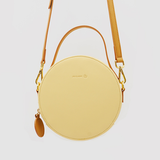 Leather Round Shoulder Bags Purses - Annie Jewel