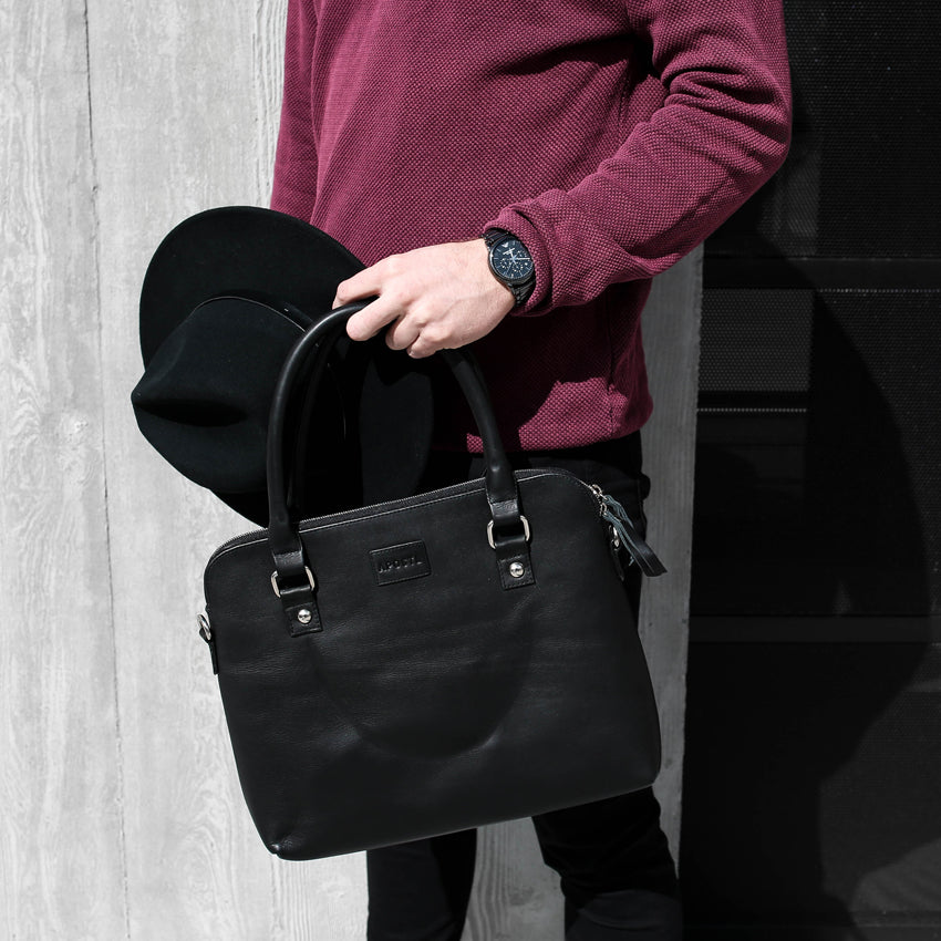 "Load image into Gallery viewer, 13"" Barnabas Laptop Bag"