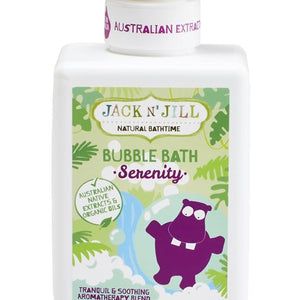 Serenity Bubble Bath, Natural Bath Time 300ml - Barefoot Creations
